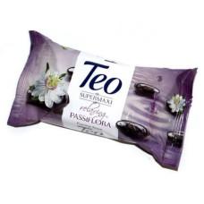 Мило туалетне Тео з гліцерином Relaxing Passiflora, 140 г