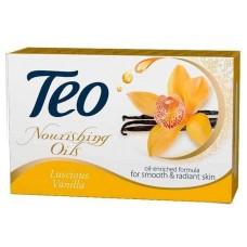 Мило туалетне Teo Nourishing oils Luscious Vanillа, 100 г