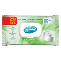 Вологий туалетний папір Smile Family Pack 80 шт