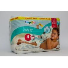 Підгузки Lupilu Soft & dry Jumbo bag Розмір 4,( 8-16 кг)  84 шт