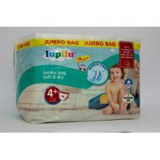 Підгузки Lupilu Soft & dry Jumbo 4+ ( 9-18 кг ) 78 шт