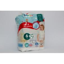Підгузки-трусики Lupilu Soft & dry  6 (15+ кг)  18 шт
