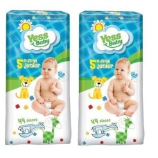 Підгузники Yess baby Jumbo Pack 5 Junior 11-25 кг (44 шт)