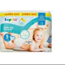 Підгузки Lupilu Soft & dry Jumbo bag 5 72 шт