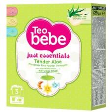 Пральний порошок для дитячих речей  Teo Bebe Aloe Vera, 225 г
