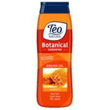 Шампунь для сухого волосся Teo Nature Botanical Shampoo Honey And Argan Oil 400 мл