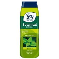 Шампунь для жирного волосся Teo Nature Botanical Shampoo Nettle And Argan Oil 400 мл
