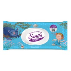 Вологі серветки Smile Decor Gapchinska 60 шт
