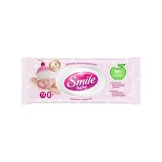 Вологі серветки для немовлят Smile Baby