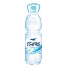 Карпатська Джерельна, вода мінеральна негазована 2 л
