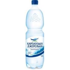 Карпатська Джерельна, вода мінеральна сильногазована 1,5 л