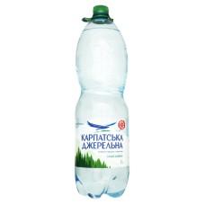 Карпатська Джерельна, вода мінеральна слабогазована 2 л