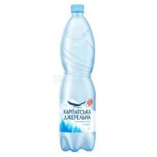 Карпатська Джерельна, вода мінеральна негазована 1,5 л